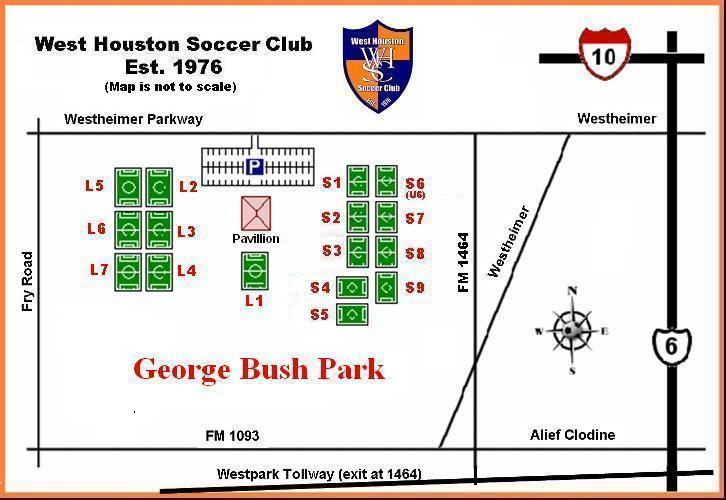 George Bush Park Houston Ultimate Community