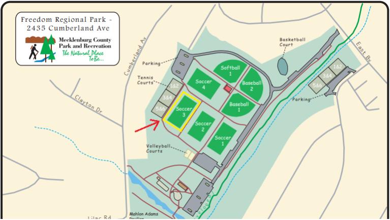 Freedom Park Charlotte Nc Map.Wednesday Night Pickup At Freedom Park Charlotte Ultimate