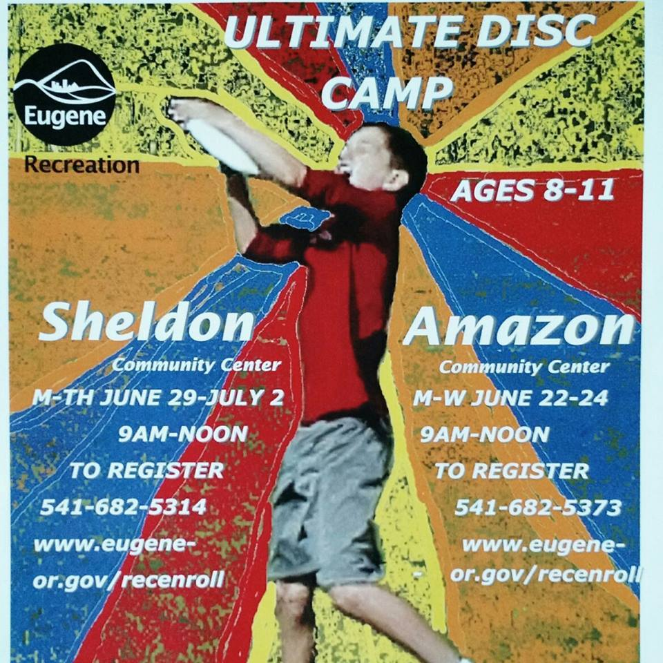 Overview - Ultimate Disc Camp Ages 8-11 - June 29th - Eugene