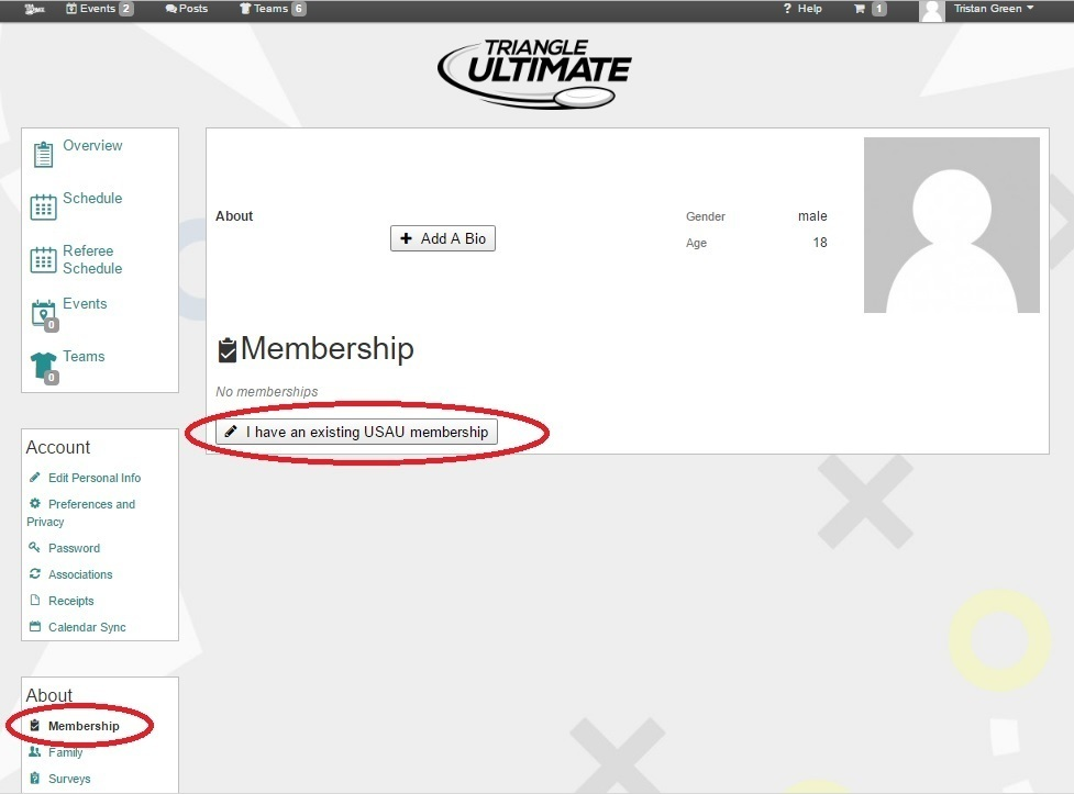 Membership - Triangle Ultimate