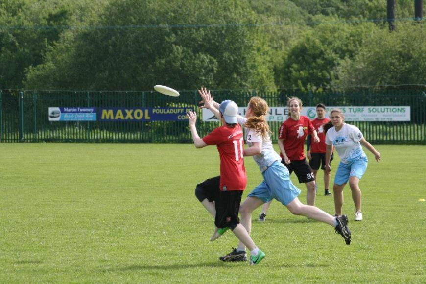 ultimate frisbee pick up in ireland irish flying disc association