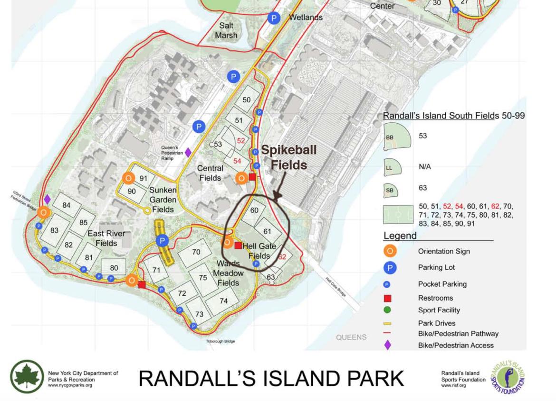 Randall S Island Lunch