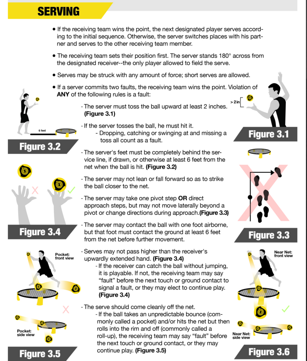 Do Serving Rules Need Changing Spikeball Roundnet Association The First Point Is Self Explanatory But Other Two May Not Be So My Reading Of