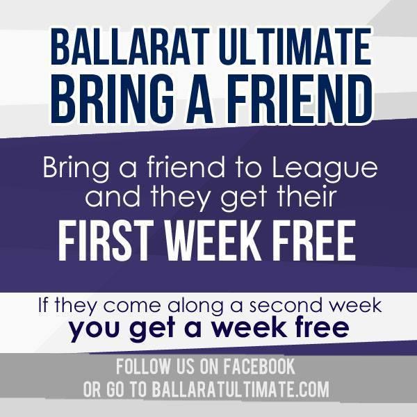 Overview - Term 3 - Indoor league - Ballarat Ultimate